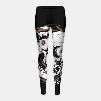 Thumbnail image of Coffee Addict Girl's leggings, Live Heroes