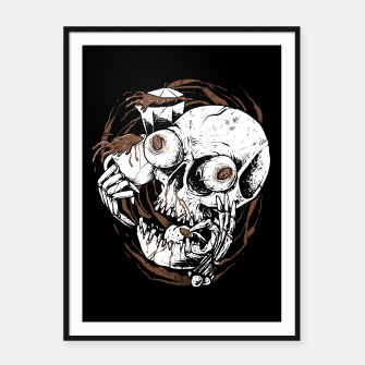 Miniature de image de Coffee Addict Framed poster, Live Heroes