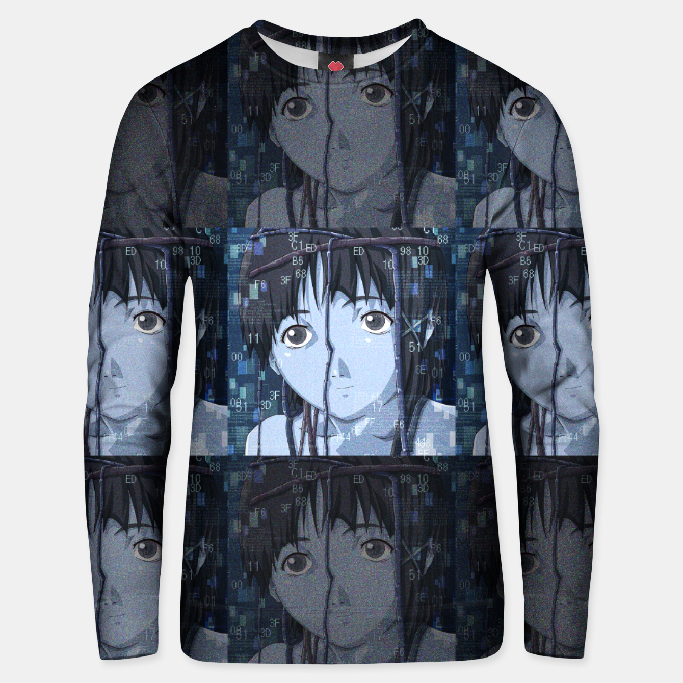 Image of Lain Unisex sweater - Live Heroes