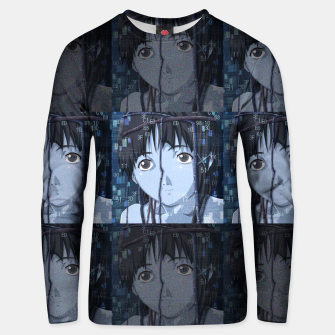 Thumbnail image of Lain Unisex sweater, Live Heroes