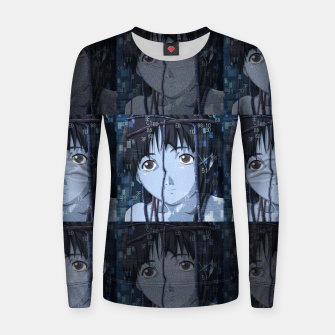 Thumbnail image of Lain Women sweater, Live Heroes