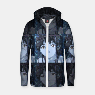 Thumbnail image of Lain Zip up hoodie, Live Heroes