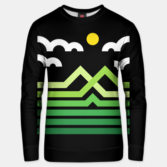 Mountain Unisex sweater thumbnail image