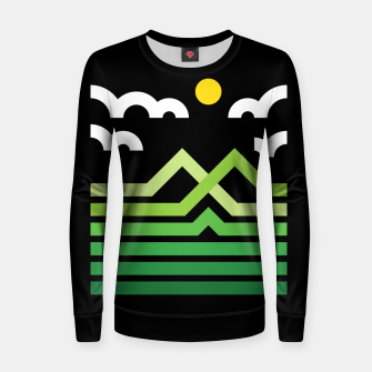 Thumbnail image of Mountain Women sweater, Live Heroes