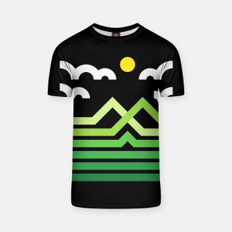 Thumbnail image of Mountain T-shirt, Live Heroes