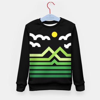 Thumbnail image of Mountain Kid's sweater, Live Heroes