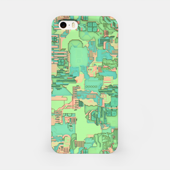 Miniatur Geek Texture iPhone Case, Live Heroes