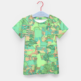 Thumbnail image of Geek Texture Kid's t-shirt, Live Heroes