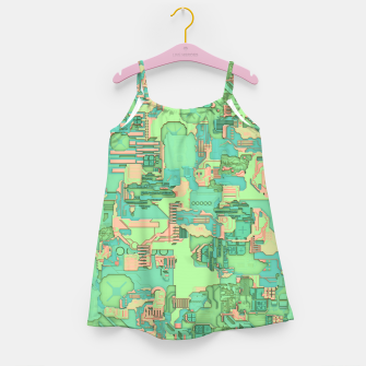 Miniature de image de Geek Texture Girl's dress, Live Heroes