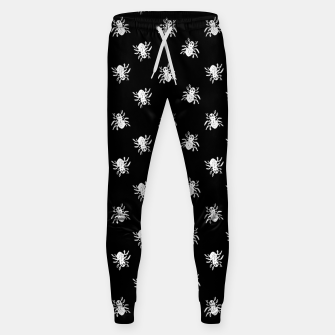 Thumbnail image of Spider Sketchy Style Drawing Pattern Sweatpants, Live Heroes