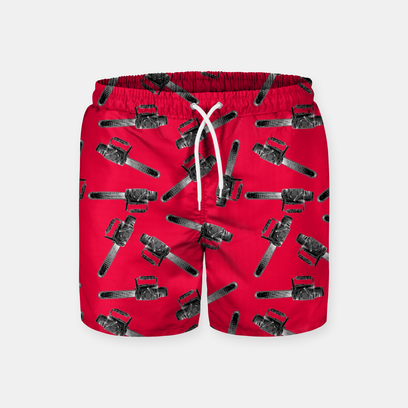 Image of Chainsaw Swim Shorts - Live Heroes