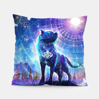 Thumbnail image of Universal cycles Pillow, Live Heroes