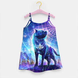 Thumbnail image of Universal cycles Girl's dress, Live Heroes