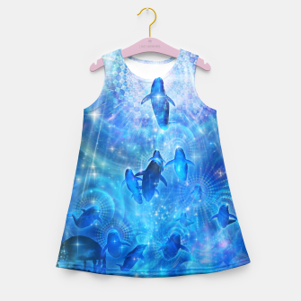 Thumbnail image of In the flow Girl's summer dress, Live Heroes