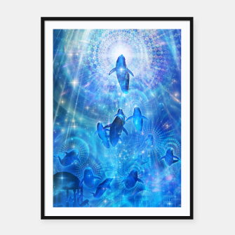 Thumbnail image of In the flow Framed poster, Live Heroes