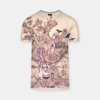 Thumbnail image of Fig Tree Island T-shirt, Live Heroes