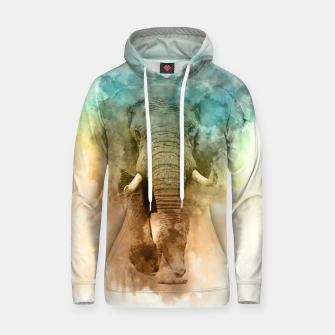 Thumbnail image of Wild Elephant Hoodie, Live Heroes