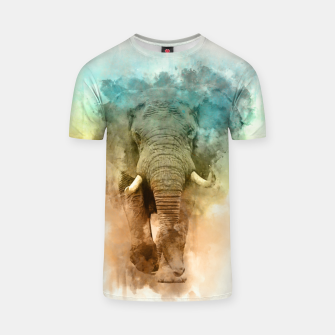 Thumbnail image of Wild Elephant T-shirt, Live Heroes