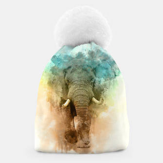 Thumbnail image of Wild Elephant Beanie, Live Heroes