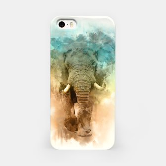 Miniatur Wild Elephant iPhone Case, Live Heroes