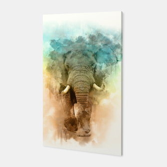 Wild Elephant Canvas thumbnail image