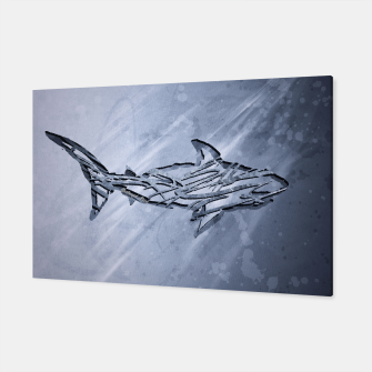 Miniature de image de Abstract Shark Canvas, Live Heroes