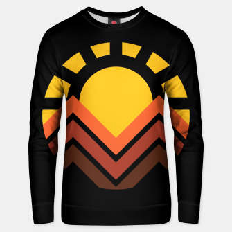 Miniaturka Sunset Mountain Unisex sweater, Live Heroes