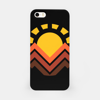 Thumbnail image of Sunset Mountain iPhone Case, Live Heroes