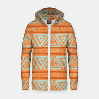 Thumbnail image of JUST IT II - TRIBAL Zip up hoodie, Live Heroes