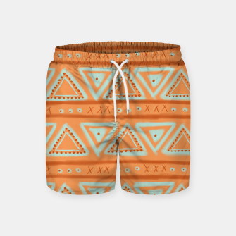 Miniature de image de JUST IT II - TRIBAL Swim Shorts, Live Heroes