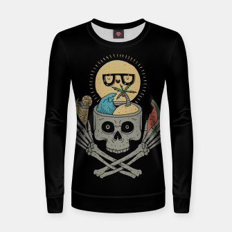 Thumbnail image of Summer Skull Women sweater, Live Heroes