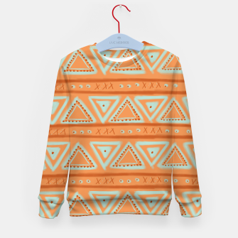 Miniaturka JUST IT II - TRIBAL Kid's sweater, Live Heroes