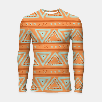 Thumbnail image of JUST IT II - TRIBAL Longsleeve rashguard , Live Heroes