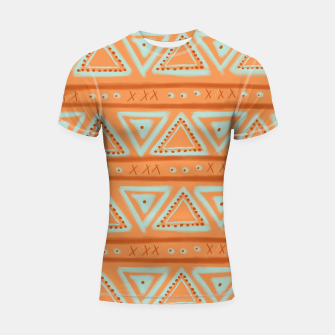 Thumbnail image of JUST IT II - TRIBAL Shortsleeve rashguard, Live Heroes