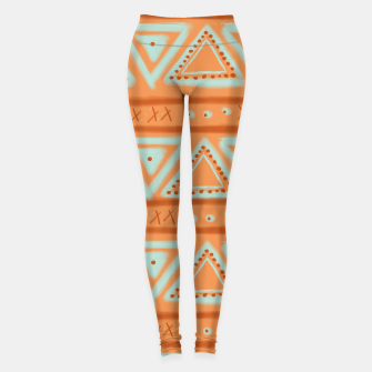 Thumbnail image of JUST IT II - TRIBAL Leggings, Live Heroes