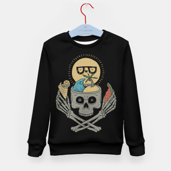 Miniature de image de Summer Skull Kid's sweater, Live Heroes