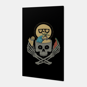 Thumbnail image of Summer Skull Canvas, Live Heroes