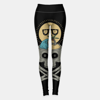 Thumbnail image of Summer Skull Leggings, Live Heroes