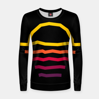 Thumbnail image of Sunset Line Women sweater, Live Heroes