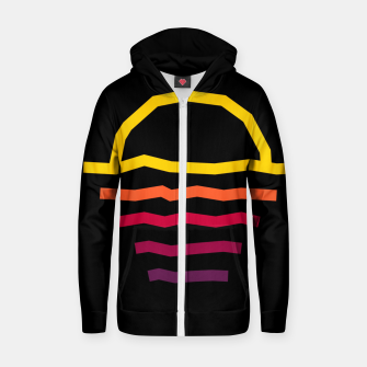 Thumbnail image of Sunset Line Zip up hoodie, Live Heroes