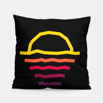 Thumbnail image of Sunset Line Pillow, Live Heroes