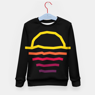 Miniature de image de Sunset Line Kid's sweater, Live Heroes
