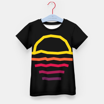 Thumbnail image of Sunset Line Kid's t-shirt, Live Heroes