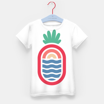 Thumbnail image of Lineapple Kid's t-shirt, Live Heroes