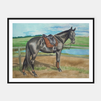 Thumbnail image of HORSE BELOVED MARE - DH Plakaty w ramie , Live Heroes