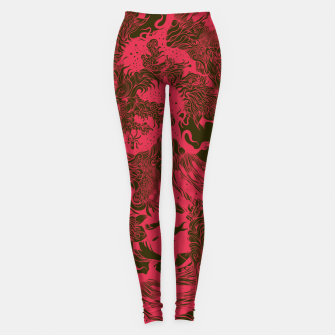 Thumbnail image of Big Waves Dark Leggings, Live Heroes