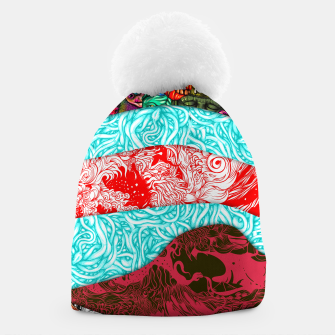 Thumbnail image of Stripes Beanie, Live Heroes