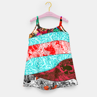 Miniatur Stripes Girl's dress, Live Heroes