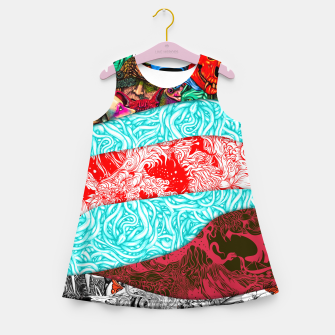 Thumbnail image of Stripes Girl's summer dress, Live Heroes