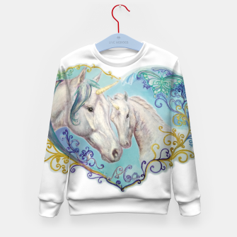 Thumbnail image of UNICORN MARE AND FOAL -DH Bluza dziecięca, Live Heroes